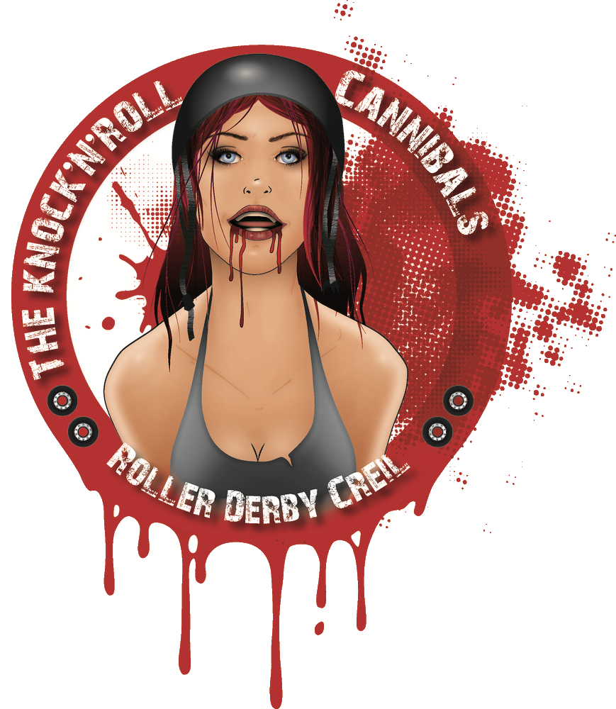 Roller Derby à Creil – Les Knock'n'roll Cannibals